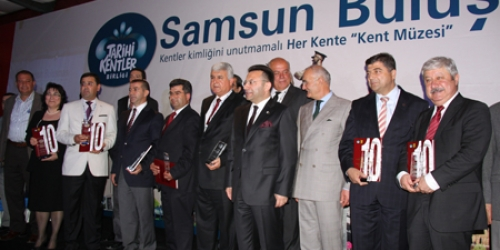 Tarihi Kentler Birliği Samsun'da buluştu
