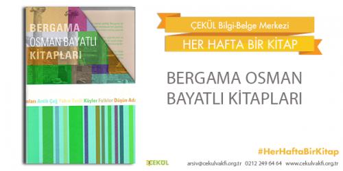 Bergama Osman Bayatlı kitapları