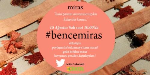 #bencemiras demeye hazır mısın?