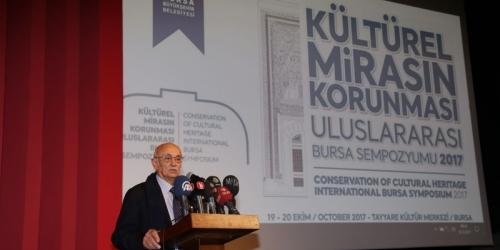 Kültürel Miras Sempozyumu Bursa'da yapıldı