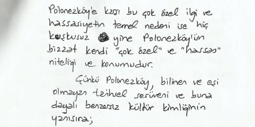 Oktay Ekinci: Polonezköy tabiatın parçasıdır