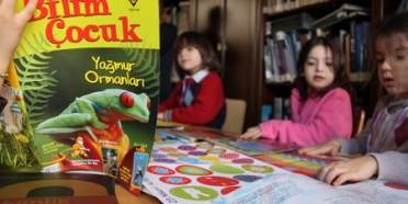 Çekül Evi'nde Çocuk Sesleri