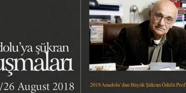 Büyük Şükran Ödülü Prof.Dr. Metin Sözen'e