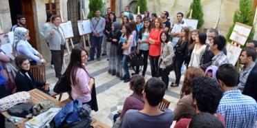 Öğrenciler, Metin Sözen Eğitim ve Kültür Merkezi'nde buluştu