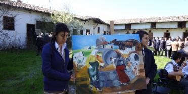 Çorum'un Bayat Köyü'nden sanat yükseliyor