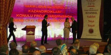 Vakıflar Haftası'nda Sinan'a Saygı Projesine Ödül