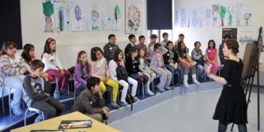 """Çanakkale Çocuk Bienali'nde bir """"maskeli balo"""""""