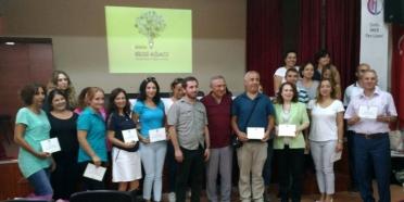 Çorlu'da Öğretmenler Bilgi Ağacıyla tanıştı