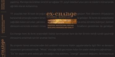 """Ex.change: İstanbul-Marsilya"" kitabı"