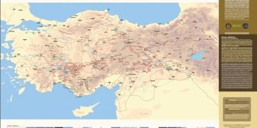 İpek Yolu-Kültür Yolu Haritası yayımlandı!