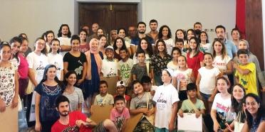 Tirilye'de Üniversite ve İlkokul Öğrencilerinden Ortak Çalışma