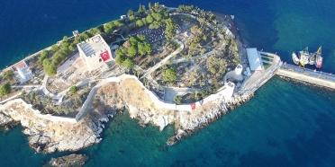 Güvercinada Kalesi UNESCO Dünya Mirası Geçici Listesinde