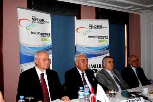 Büyük Menderes Havzası İstanbul toplantıları