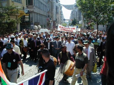 Kelkit Havzası İstanbul etkinliği - yürüyüş