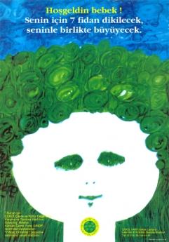 7 Ağaç Ormanları'nın en sevilen afiş ve kartlarından;