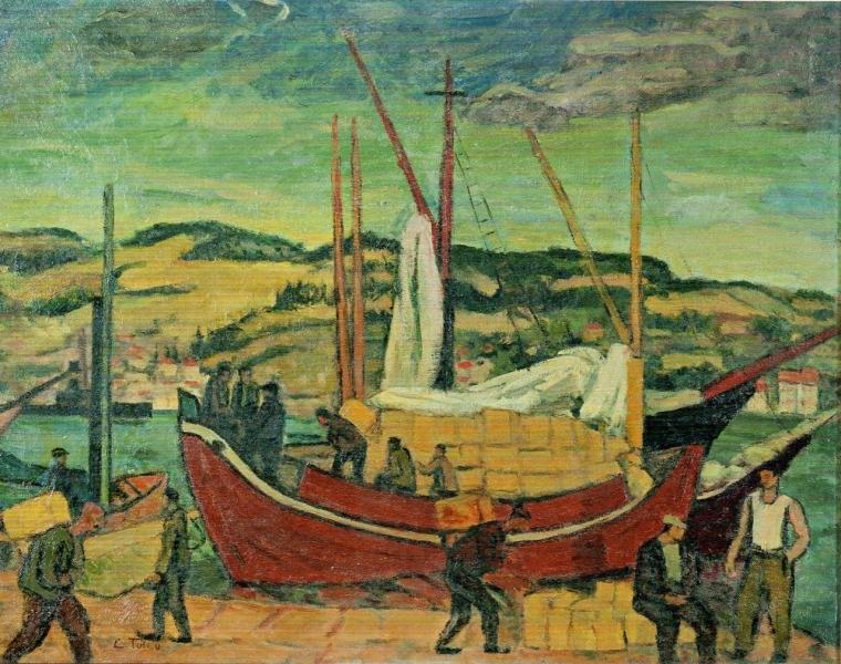 Limanda, Cemal Tollu (Mustafa Taviloğlu Koleksiyonu)