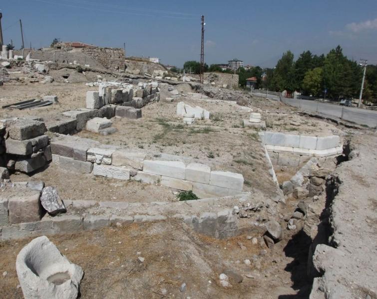 Apollonius'un Kenti Tyana - Vaftizhane