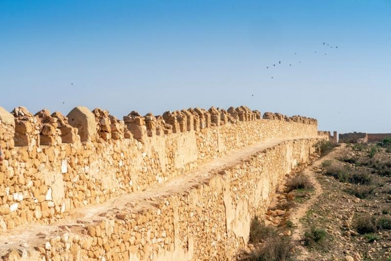 Depremde Yıkılan Agadir Surları, Fas