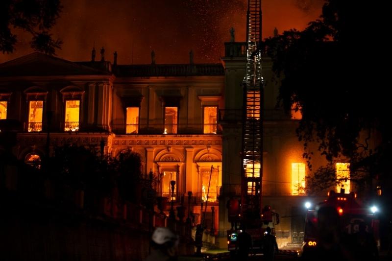 Celso Pupo / Brezilya Ulusal Müzesi Yangını, 2 Eylül 2018