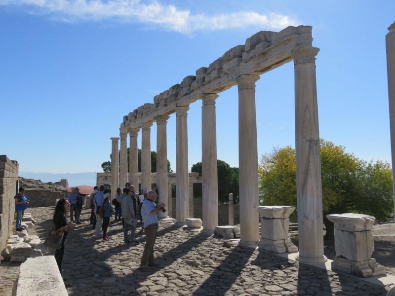 Alanda Eğitimlerde üç tarihi kent incelendi