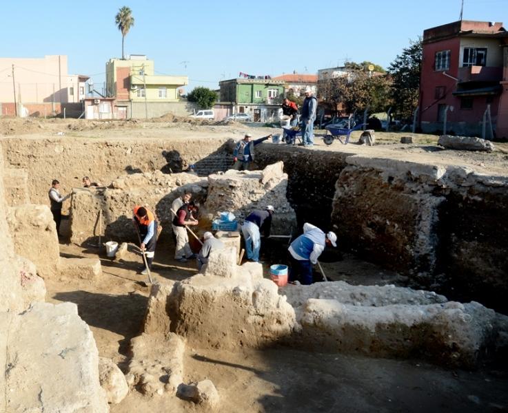 Tepebağ'da ilk buluntular ortaya çıktı
