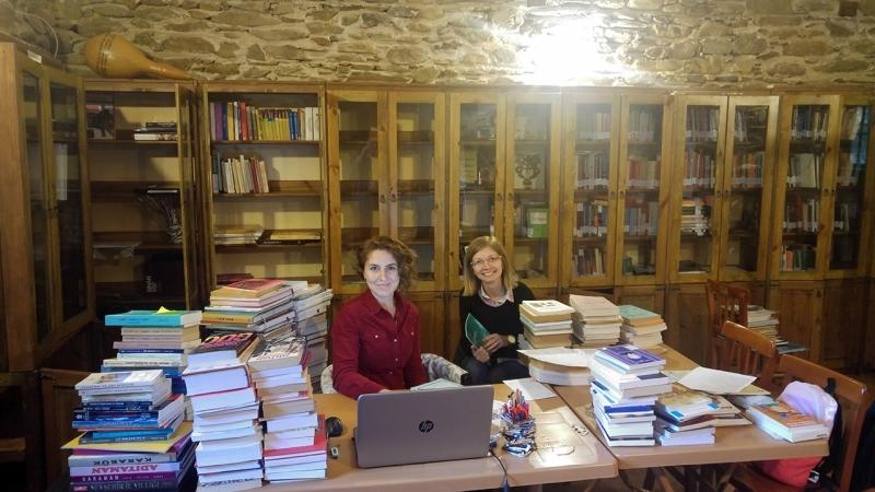 ÇEKÜL Birgi Evi Kütüphanesi büyüyor!