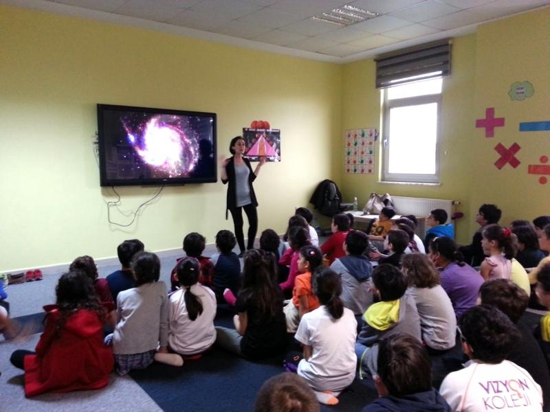 ÇEKÜL Bilgi Ağacı çocuklara suyun öyküsünü anlattı