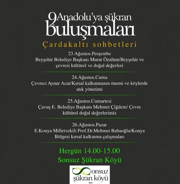2018 Anadolu'dan Büyük Şükran Ödülü Prof.Dr. Metin Sözen'e