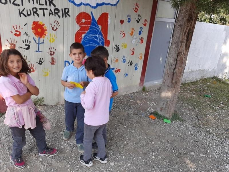 Düzce Perihan Tulan İlkokulu Ağaç Rallisi etkinliği