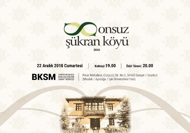 Anadolu'dan Büyük Şükran Ödülü Prof. Dr. Metin Sözen'e verildi