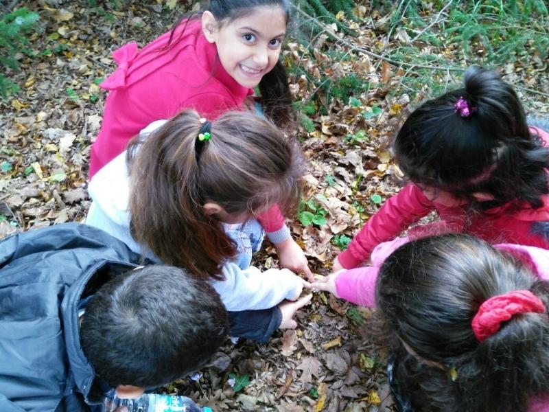 Çocuklar Atatürk Arboretum'da doğayla buluştular