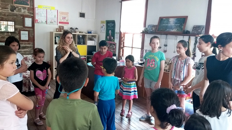 Birgili Çocuklar Yaz Okulunda