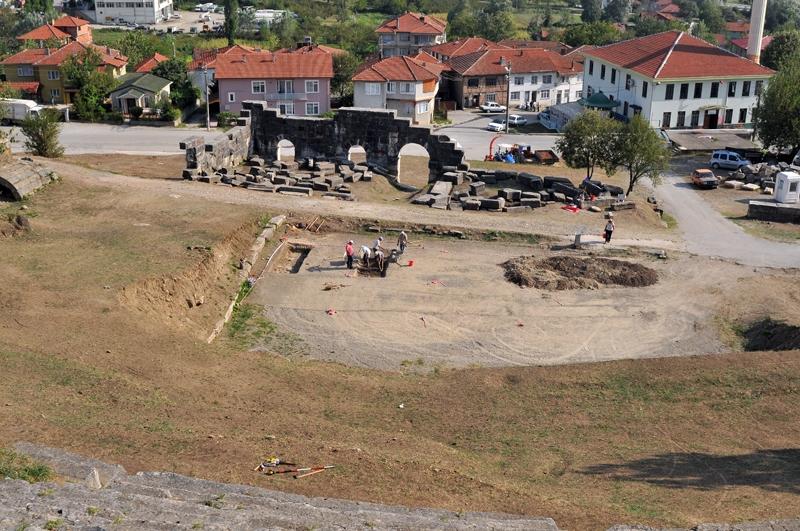 Düzce'nin antik beldesi Konuralp'in büyük birikimi ortaya çıkıyor