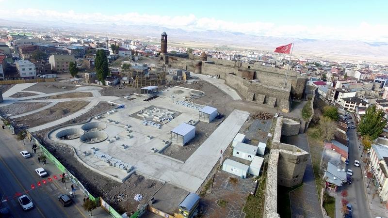 Koruma Erzurum'da kültür yolundan geçiyor
