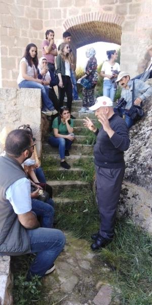 Prof. Dr. Ayşe Gülçin Küçükkaya ve öğrencileri