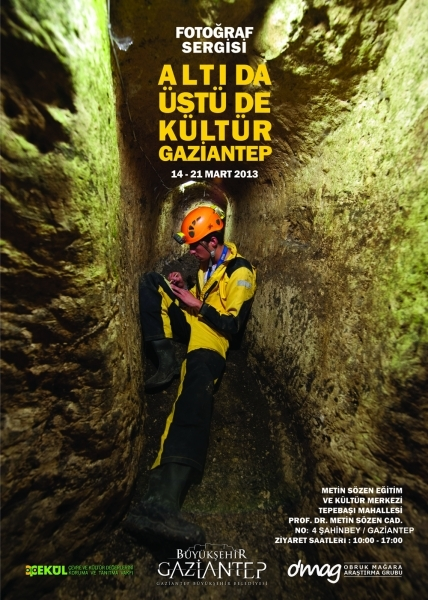 Gaziantep'te sıra yeraltı yapılarında