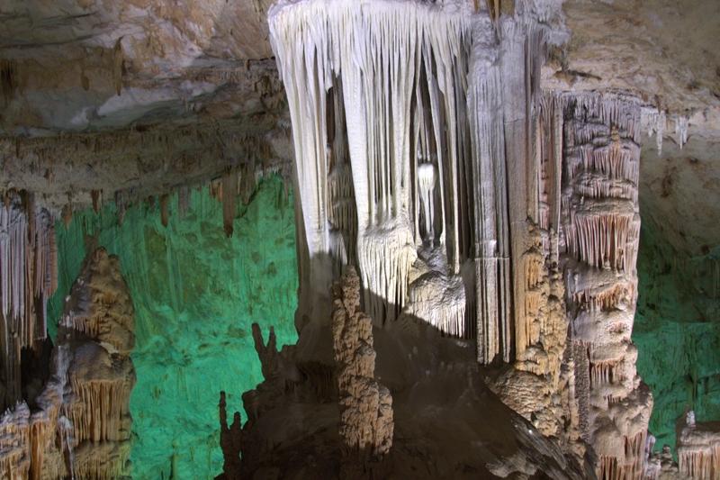 Aynalıgöl mağarası'na ziyaret