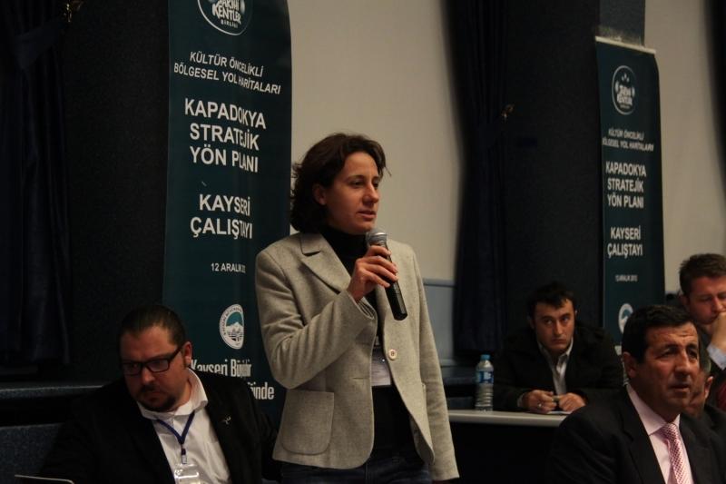 Kapadokya için ikinci çalıştay Kayseri'de yapıldı