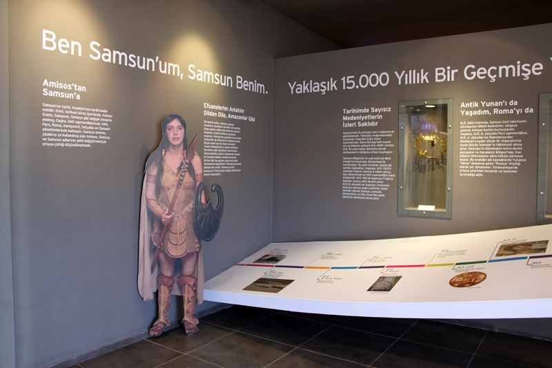 Samsun Kent Müzesi eğitime hazırlanıyor