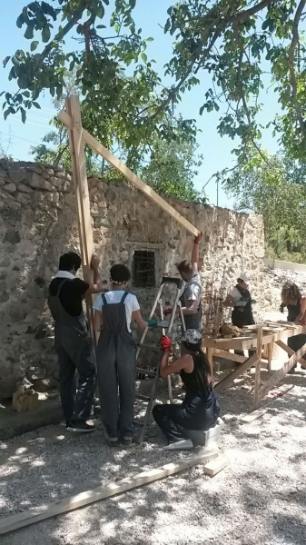 Genç mimarlar Merzifon'da
