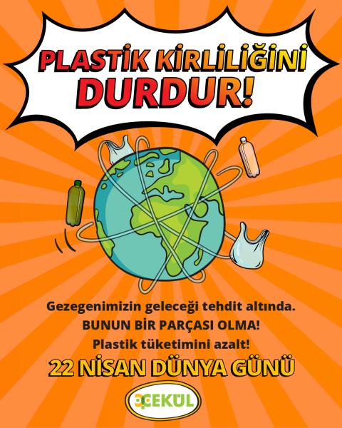 Plastik Kirliliğini Durdur!