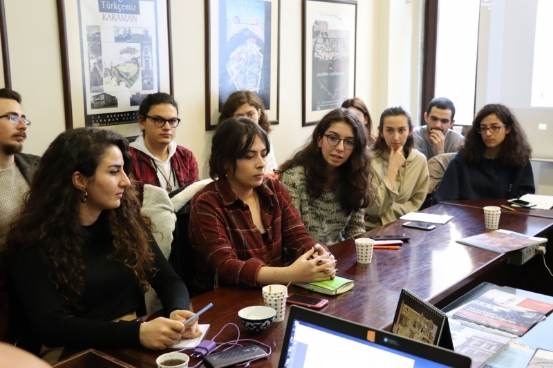 Şehir planlama öğrencileri ÇEKÜL Evindeydi