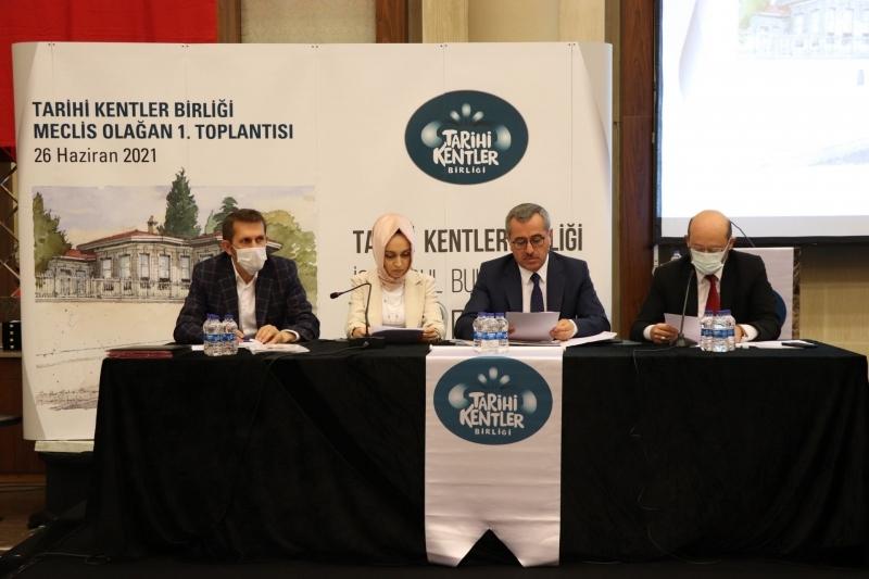 Tarihi Kentler İstanbul'da Buluştu