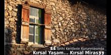 Tarihi Kentlerin Korunmasında Kırsal Yaşam, Kırsal Miras...